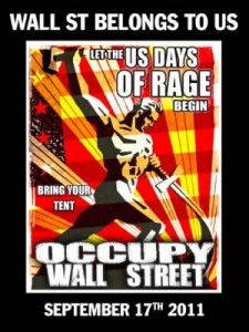 Occupy communist style poster