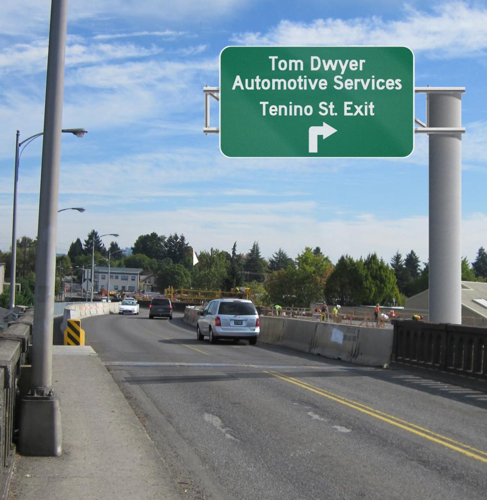 Bridge w sign 5
