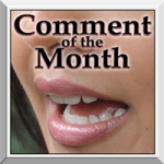 Comment-of-the-Month-Button