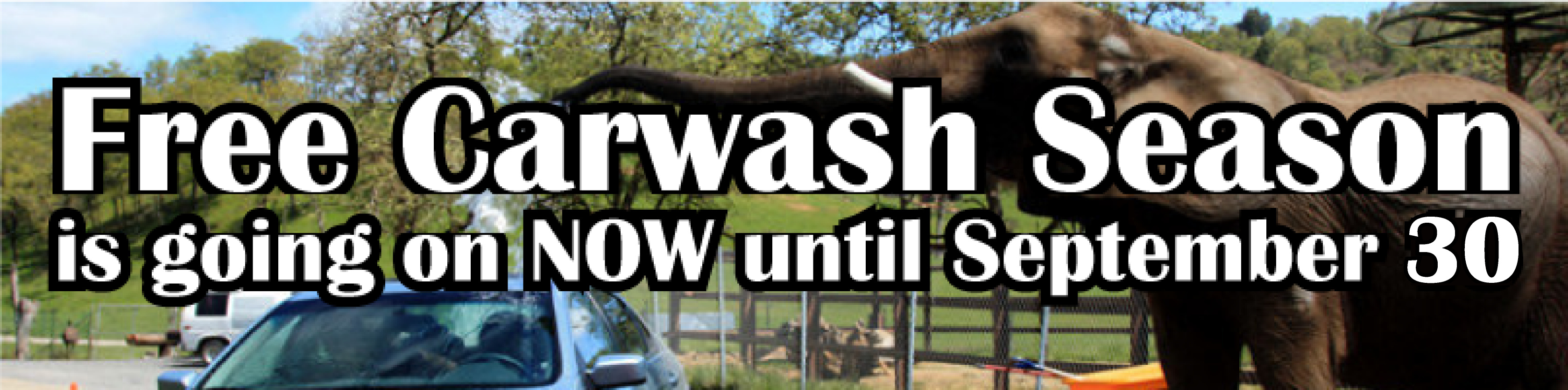 car wash sep 30