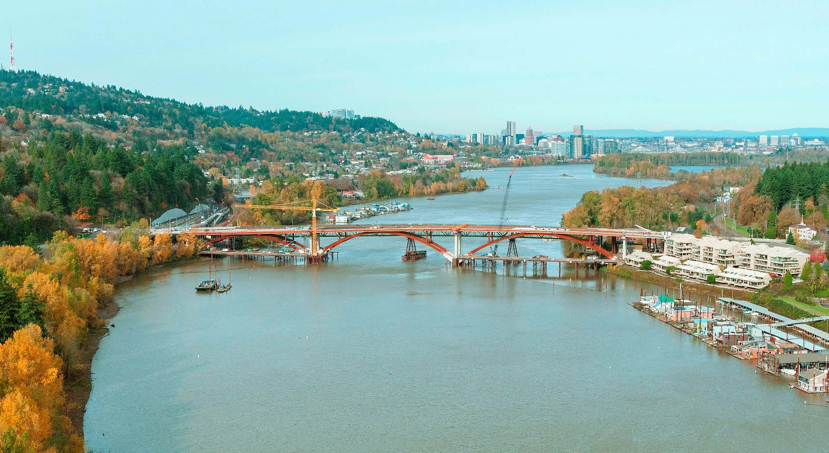 Sellwood Bridge from the south - web